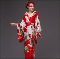 8 color New Fashion Japanese traditional kimono Sexy Kimono Vintage Party Dress Japanese Dance Costume