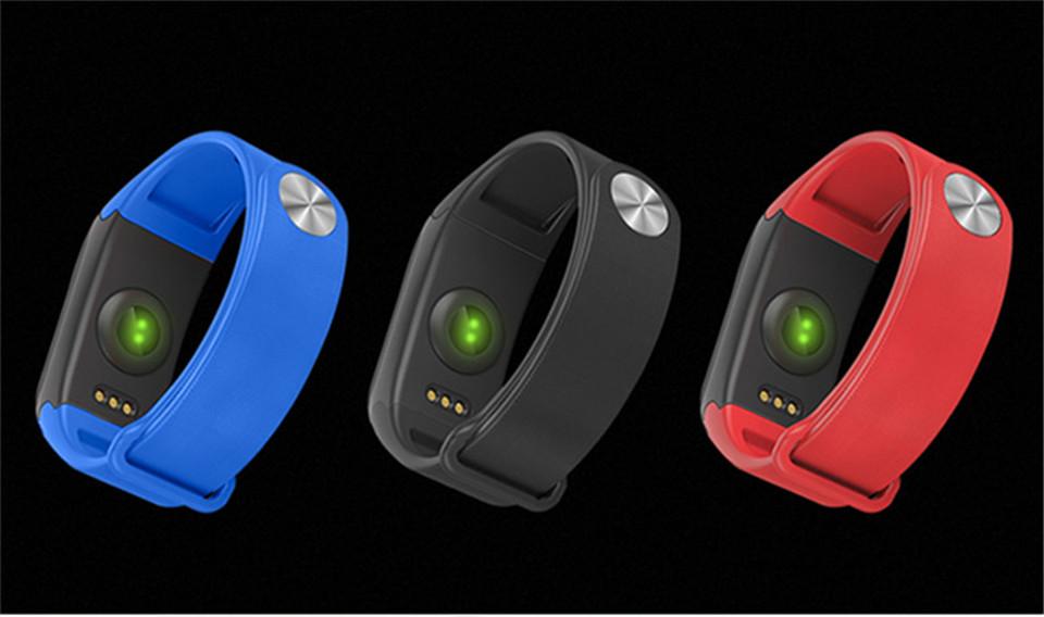 LETIKE Blood Pressure Smart Bracelet Sport Pedometer Fitness Tracker Wrist Smartband Pulse Measure Waterproof For IOS Android 2