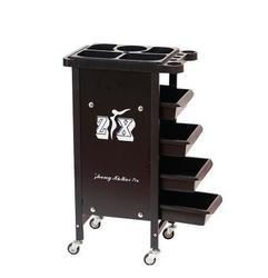 Тележка для салона красоты горячая краска тележка Парикмахерская пять баров Парикмахерская инструмент для корзины шкаф.