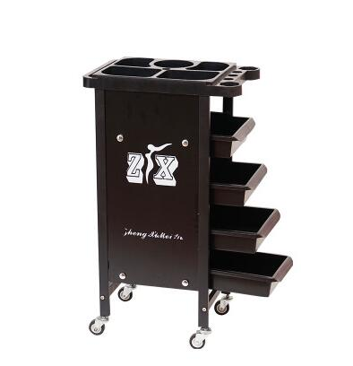 цена на Beauty Salon Cart Hot Dye Cart Hair Salon Five Bars Barber Shop Cart Tool Cabinet.