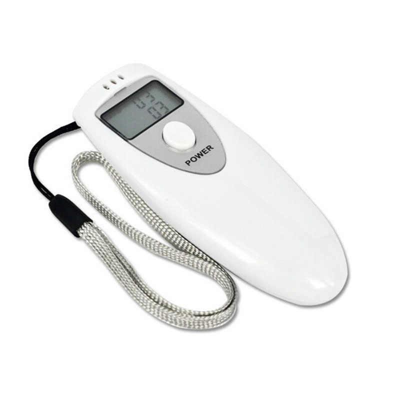 2 pcs מכירה לוהטת משטרת LCD אלכוהול Tester נייד דיגיטלי נשימה אלכוהול Analyzer גלאי ינשופים בודק עבור נהיגה בטוחה