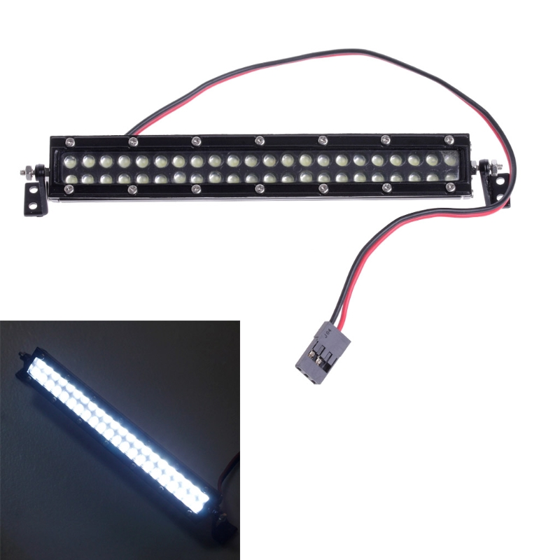 1:10 Scale RC Car Crawler Accessories Super Bright Roof LED Light Bar 44 Leds ontology based crawler