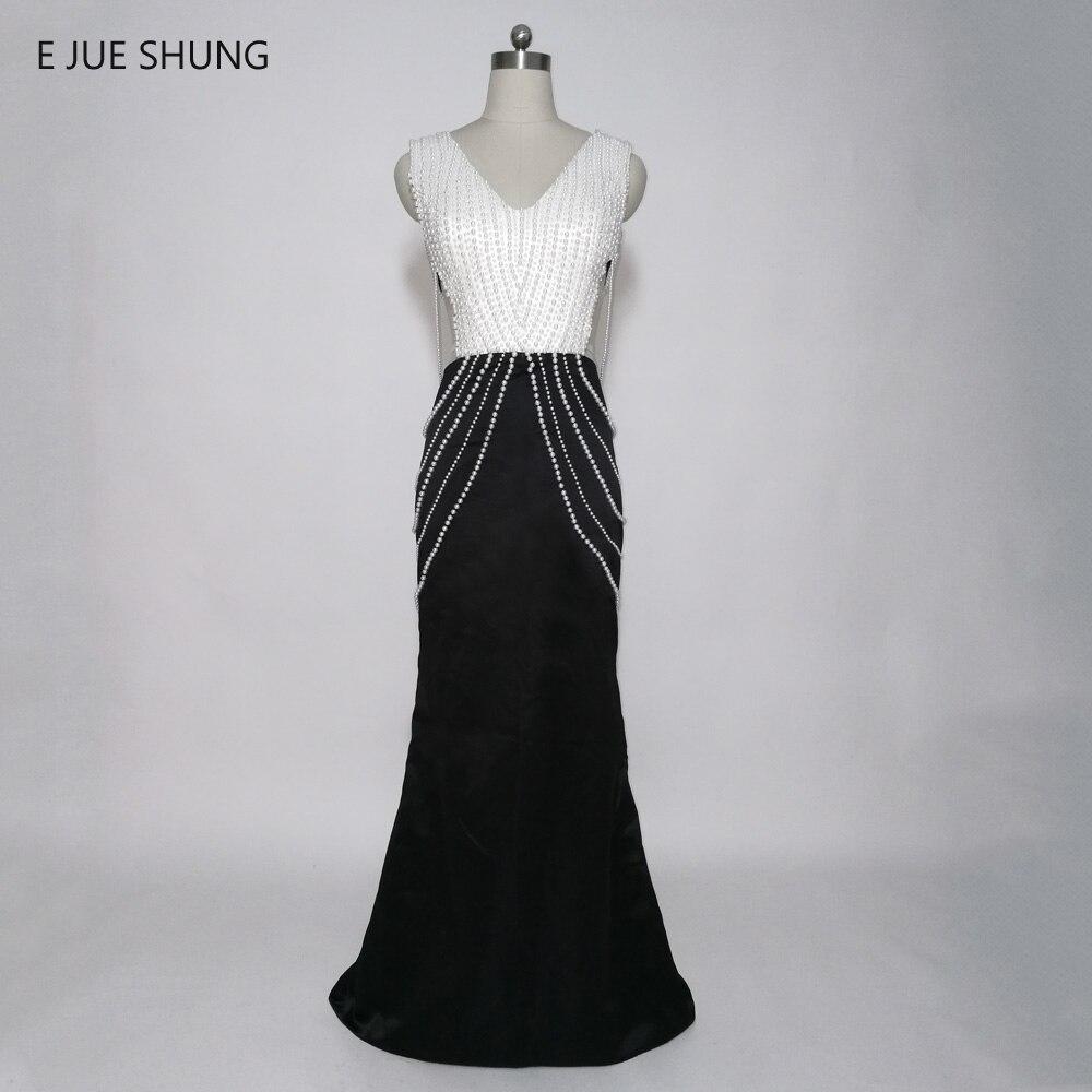 E JUE SHUNG White Pearls Black Mermaid