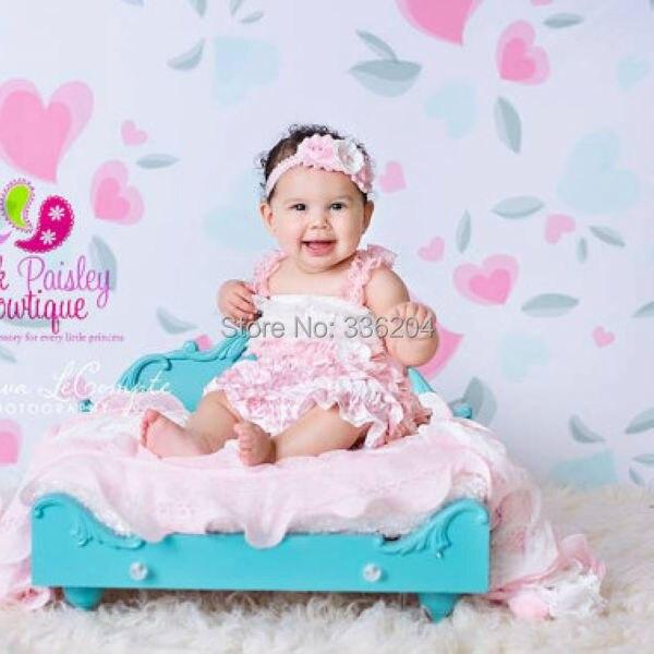 Vendimia Chevron Encaje Petti vestido, bebé 1st cumpleaños vestido ...