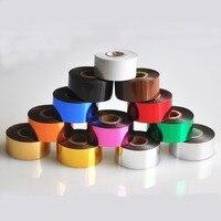 HOT FOIL PER Genuine Leather Craft Cloth 25 e 50 MM di LARGHEZZA 120 METRI Per Rotolo