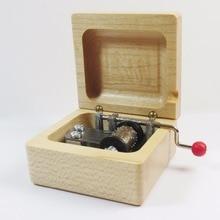 Handmade Wooden Star Wars Music Box