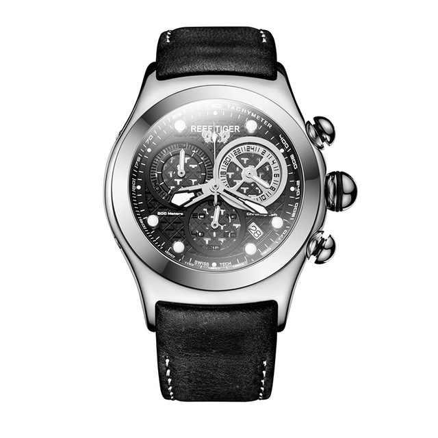 サンゴ礁虎オーロラserier RGA782男性クロノグラフダイヤルスポーツ防水ファッションクォーツ腕時計