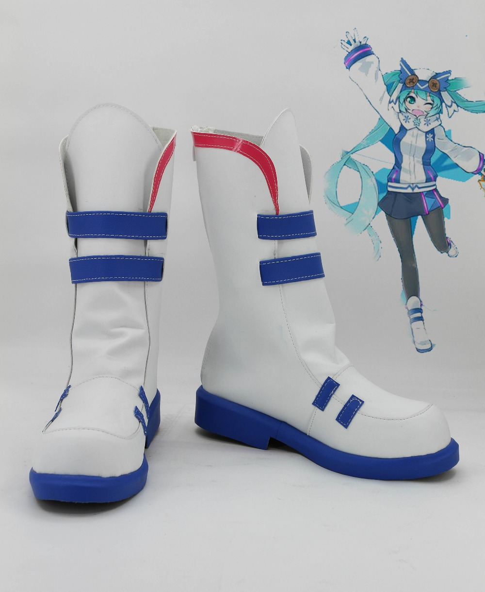 Vocaloid Hatsune Miku Miku Sportswear Uniform Cosplay Boots Shoes For Women  Girls-in Shoes from Novelty & Special Use on Aliexpress.com | Alibaba Group