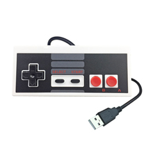 For NES Wired USB Controller Gamepad for PC/USB/NES Computer Video Games Mando Handle Retro USB For NES Joystick Controle 2pcs 1 8m cable adapter converter for super nes nes controller to nes mini classic system for fc9 sfc snes 7 needle controller