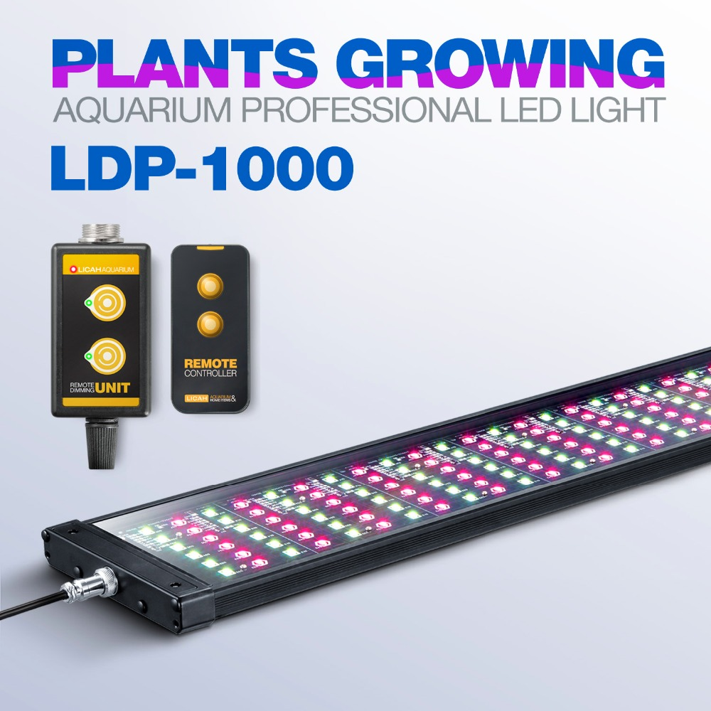 LICAH Fresh Water Aquarium Plant LED LIGHT LDP 1000 Free Shpping