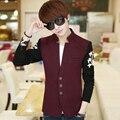 Бренды Новый костюм молодой мужчина развивать нравственность маленький пиджак бизнес leisure suit мужская Мода дешевые Blazer