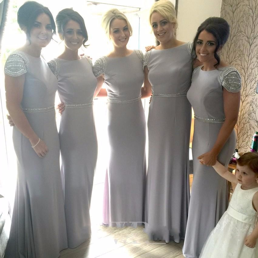 Online Buy Wholesale gray bridesmaid dresses from China gray ...