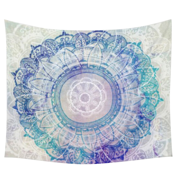 203 153cm Indian Mandala Tapestry Mandragora Round flower printing Beach Towels  Yoga Mat Sun Block