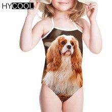 HYCOOL/Детские купальники; боди; цельный купальный костюм с принтом «кавалер Кинг»; цельный купальный костюм для девочек; детский купальный костюм;