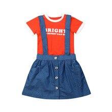 купить Lovely Little Girls Dress Vest Pleated Dress Two Pieces Set Clothes Children Skirt Suit vestido infantil children Hot clothing дешево