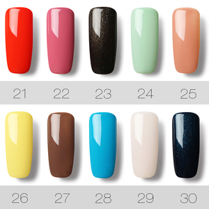 Image 4 - ROSALIND 58PCS/LOT Pure Color Nail Gel Fast Delivery Can Be Soak Off Healthy and Eco friendly UV LED Gel Nail Gel Polish