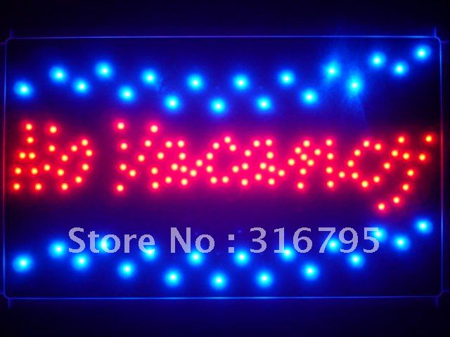 led124-r No Vacancy Hotel Motel Led Neon Sign Wholesale Dropshipping