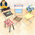 Stainless Steel Portable Folding Chair Camping Outdoor Tools Fishing Chairs BBQ Beach Breathable Stool