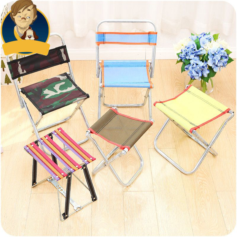 Stainless Steel Portable Folding Chair