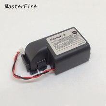Masterfire original novo MR-BAT6V1SET MR-J4 6v plc bateria 2cr17335a wk17 baterias com fio leva para mitsuishi