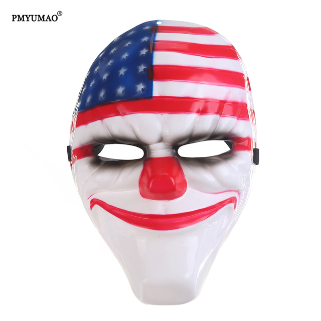 Aliexpress.com : Buy 3pcs/lot Wholesale Payday mask PVC Scary ...