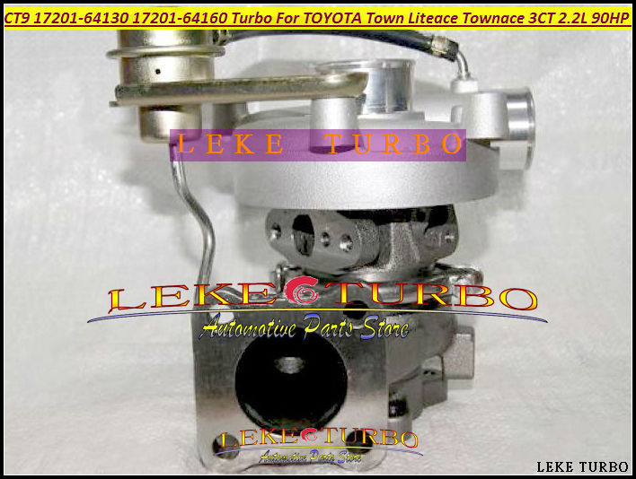 Free Ship CT9-2 17201-64130 Turbo Turbocharger For TOYOTA Lite Town Liteace Townace 1996- Noah CR40 CR41 CR50 3C-T 3CT 3CTE 2.2L free ship gt1849v 717626 717626 5001s turbo turbocharger for opel vectra signum for saab 9 3 9 5 9 3 9 5 y22dtr 2 2l dti 123hp