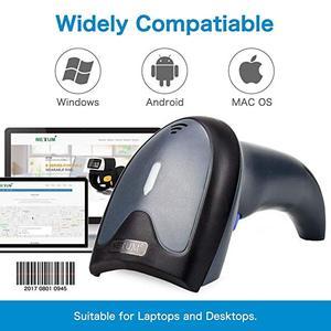 Image 2 - QR バーコードスキャナ有線自動 USB 1D 2D バーコードイメージャ用スタンドとモバイル決済サポート PDF417 、データマトリックス NT W9