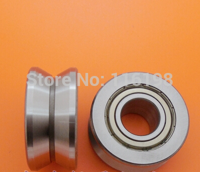 LV201 V groove deep groove ball bearing 12x41x20mm Traces walking guide rail bearings ABEC5 free shipping 6806 full si3n4 p5 abec5 ceramic deep groove ball bearing 30x42x7mm 61806 full complement