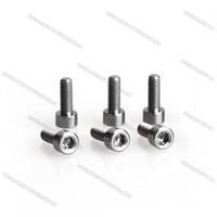20pcs/lot M3x8mm DIN912 Titanium Screws Socket Cap Bolts for RC Hobby toys