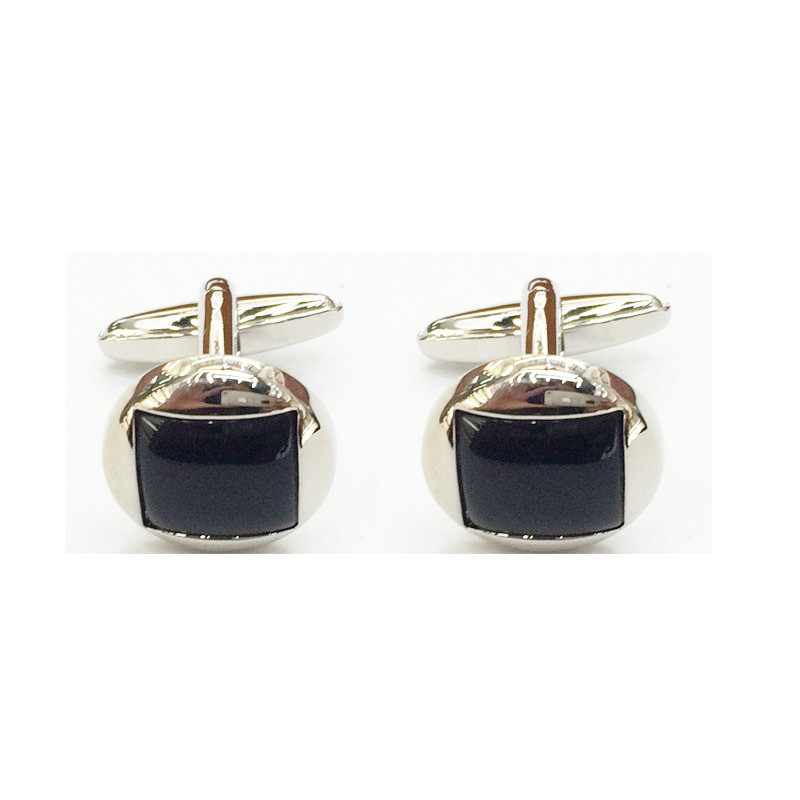 CH79 UJOY Black Cufflinks Mens accessories Father day gift Business Cuff Links hot sale
