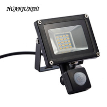 LED PIR Motion Sensor Flood Light 20W Waterproof IP65 220V Floodlight Garden Spotlight Outdoor Wall Lamp Spotlight LED Street