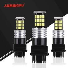 ANMINGPU 2x Signal Lamp T25 Led Bulb 3156 3157 Canbus Error Free P27W P27/7W LED Car Backup Reverse Brake Turn Light