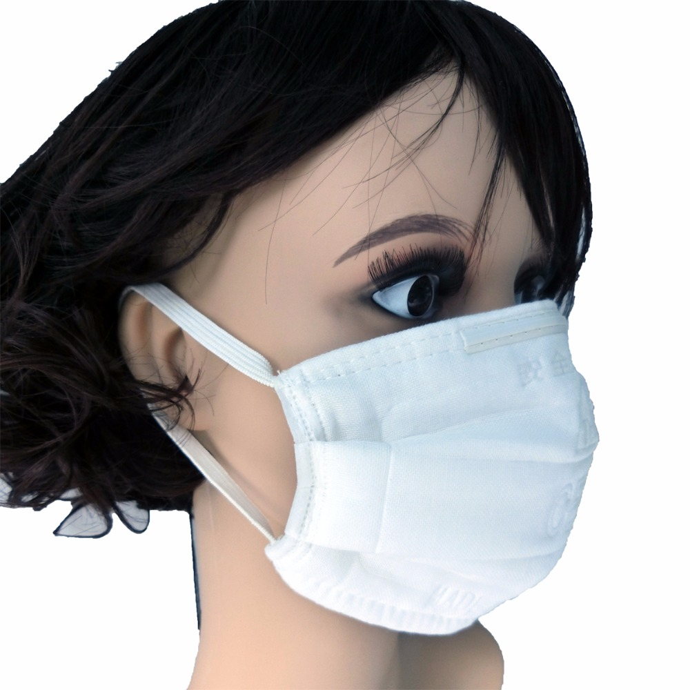 New 50/100/200Pcs White Cotton Washable Dustproof Mouth MaskSeamless Fit Face Soft Breathable Elastic Mask Surgical MaskAnti Fog half face protector breathable elastic cotton mask black