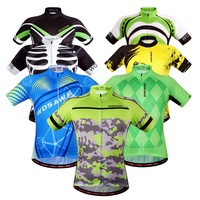 WOSAWE Cycling Jersey Cycling Clothing Ropa Ciclismo Men Summer Maillot Ciclismo Sportwear Short Sleeve Team Cycling