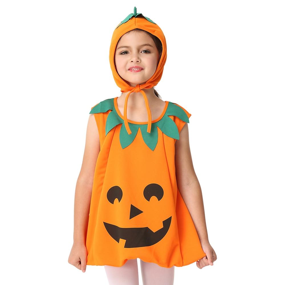 consegna gratuita sito web professionale stati Uniti US $16.14 15% di SCONTO Vestito zucca Costume Bambini Costume di Halloween  Per Le Ragazze Del Partito di Cosplay Costume Eseguire Dancewear Stage di  ...