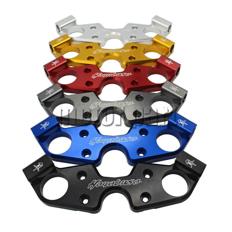 For 2008-2015 Suzuki Hayabusa GSX1300R GSXR1300 GSX 1300 R Motorcycle Lower Lowering Triple Tree Front End Upper Top Clamp
