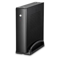HOT Thin Mini Itx Cases Usb2.0 2.5 Inch Hdd Ssd Sgcc Computer Gaming Pc Desktop Chassis Quiet For Motherboard Below 20 Mm