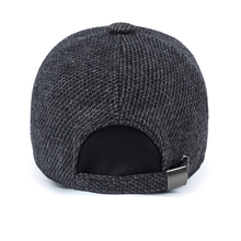 Thickened Baseball Cap With Ears