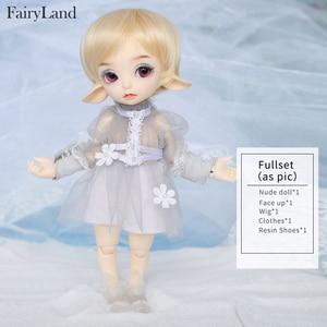 Image 5 - Realfee Luna 19cm Fairyland bjd sd doll fullset lati tiny luts 1/7 body model  High Quality toys  shop ShugoFairy wigs Mini doll