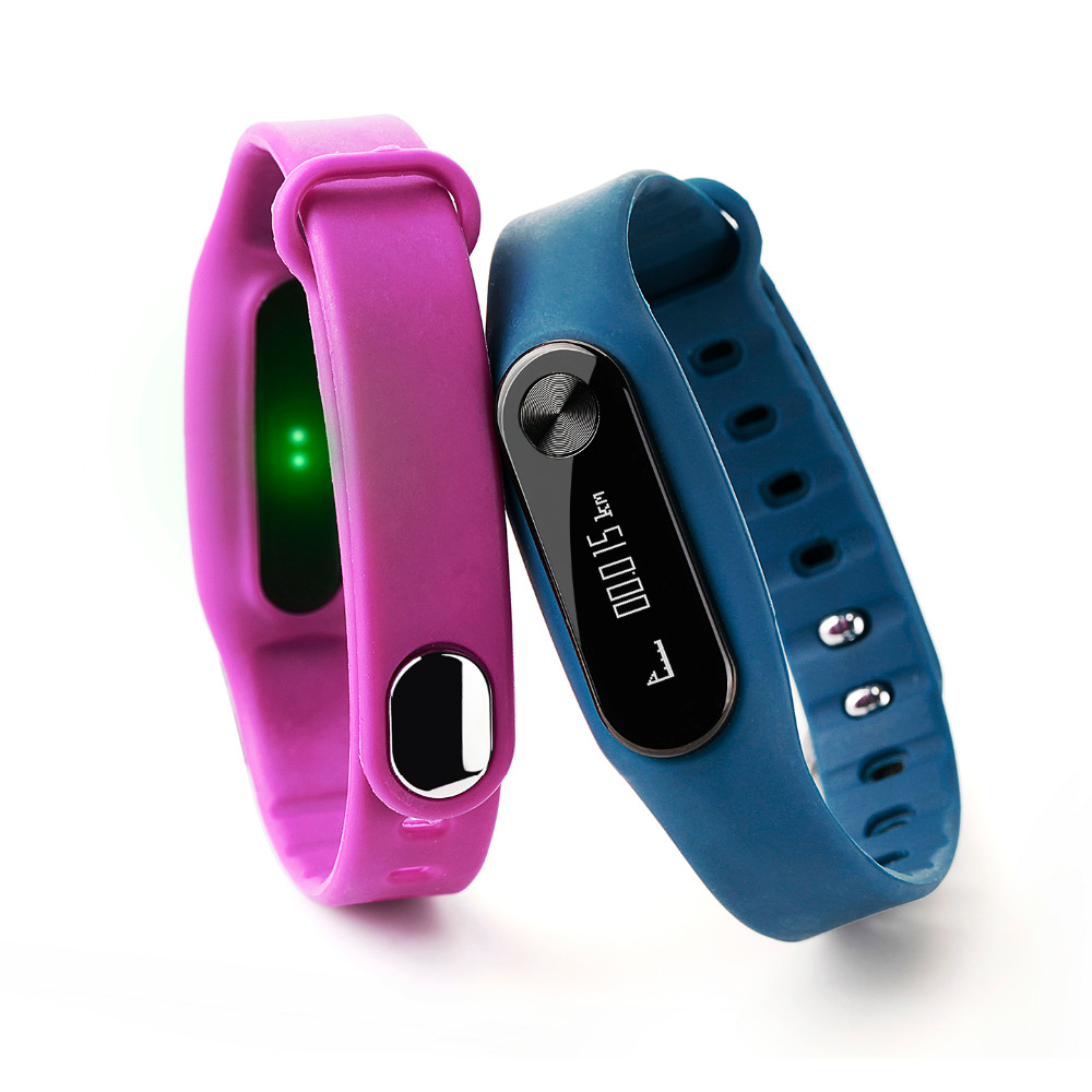 Blood Pressure Smartband Heart Rate Monitor Smart Band Pedometer Wristband Fitness Flex Bracelet for Android iOS