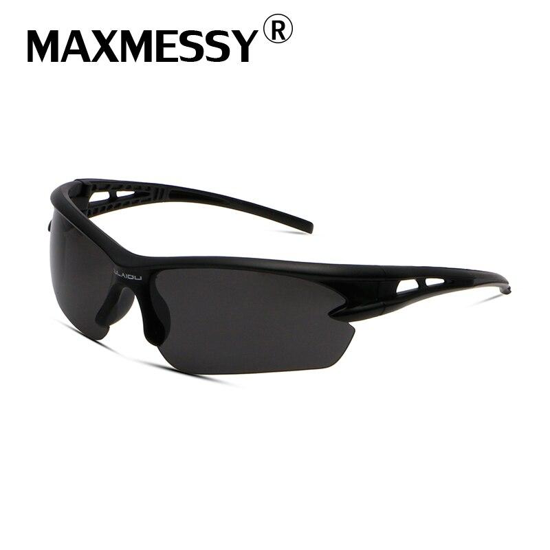e605b10f5 Maxmessy outdoor الرياضة تخييم التنزه نظارات شمس رجال مكافحة انفجار بارد  نظارات ليلة القيادة النظارات الذكور as037