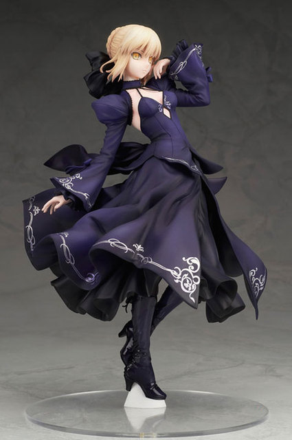 NEW hot 26cm Fate Zero Fate stay night black saber Arturia Pendragon action figure collection toys Christmas gift no box 1
