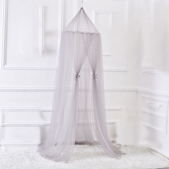 Crib Netting Hanging Kid Bedding Round Dome Bed Canopy Bedcover Mosquito Net Curtain Home Tent Baby Room Decoration Crib Netting