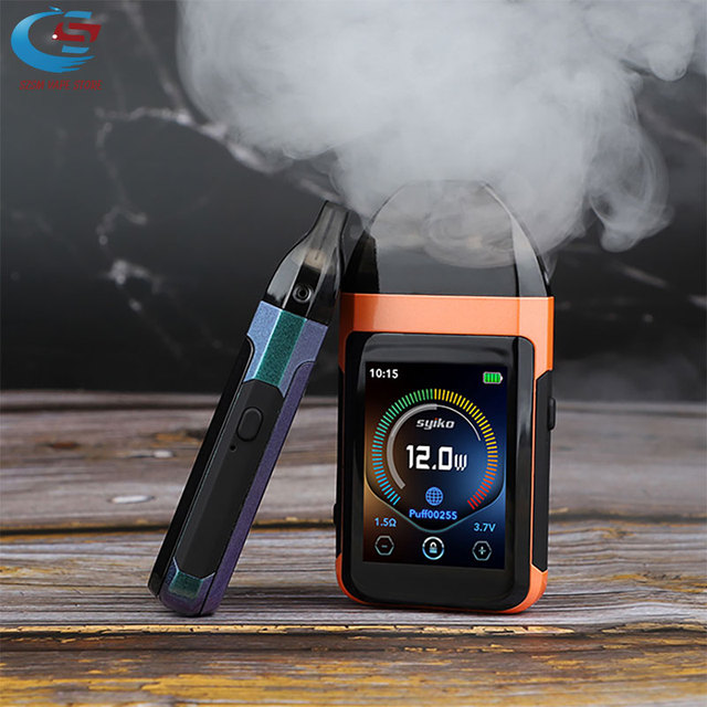 Оригинальный портативный набор Syiko SE vape встроенный 650 вэпорайзер на батарейках набор электронных сигарет Vape 2 мл Pod емкость Vape комплект