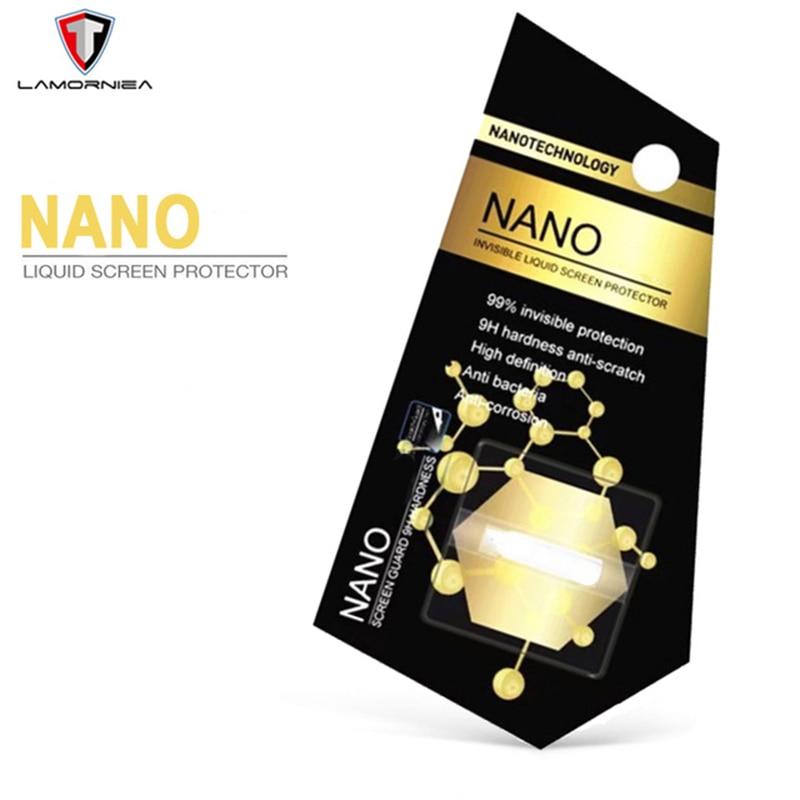 Lamorniea Nano Liquid Screen Protector For iphone X XS XR 7 8 6S Full Cover Huawei Mate 20 Pro Redmi Note 5