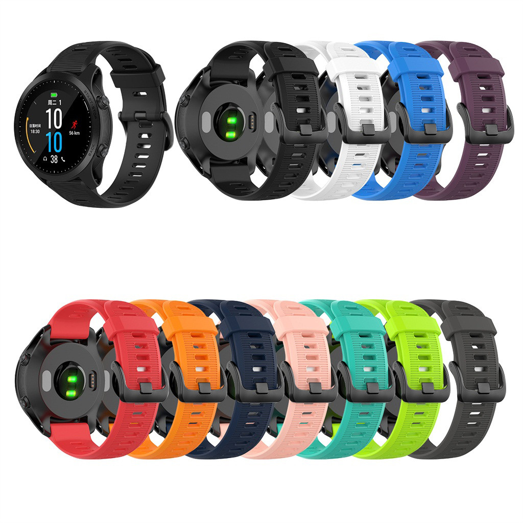 Light Band-Replacement Garmin Forerunner Silicone Flexible Wriststrap 935/fenix 5/Plus