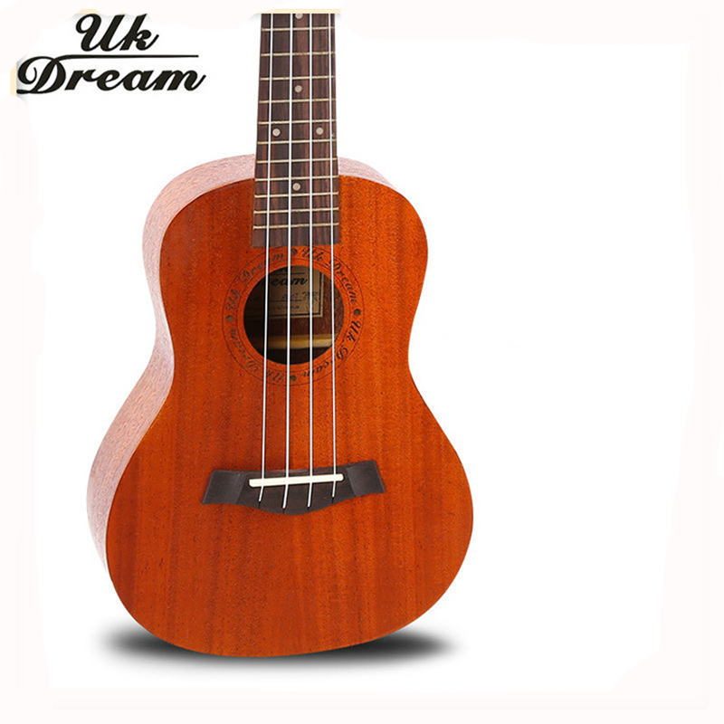 4 Strings Mini Acoustic Guitar Full Mahogany 18 Frets UKulele Professional Musical Stringed Instruments guitarra UC-840T savarez 510 cantiga series alliance cantiga ht classical guitar strings full set 510aj