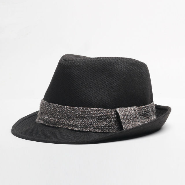 Wholesale Autumn and Winter Father Headwear Man Jazz Hats Top Quality Male  Casual Hat Men Formal Fedora Hats 272a24f3de1b