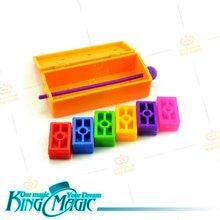 Блоки для детей, детские магические трюки, игрушки-реквизиты