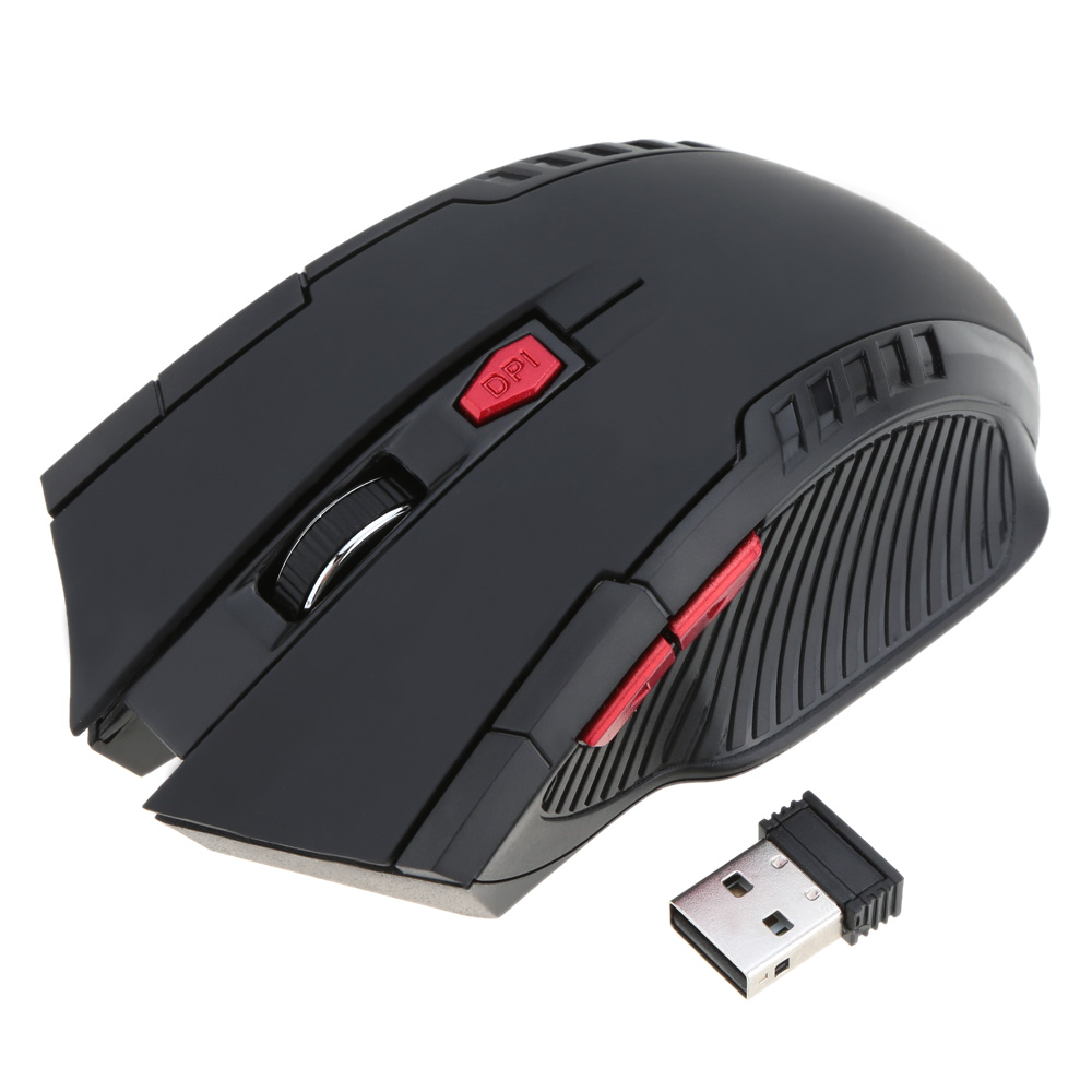 2.4G Wireless Business Gaming Mouse/Mice Portable 2400DPI Adjustable Optical for PC Laptop Desktop